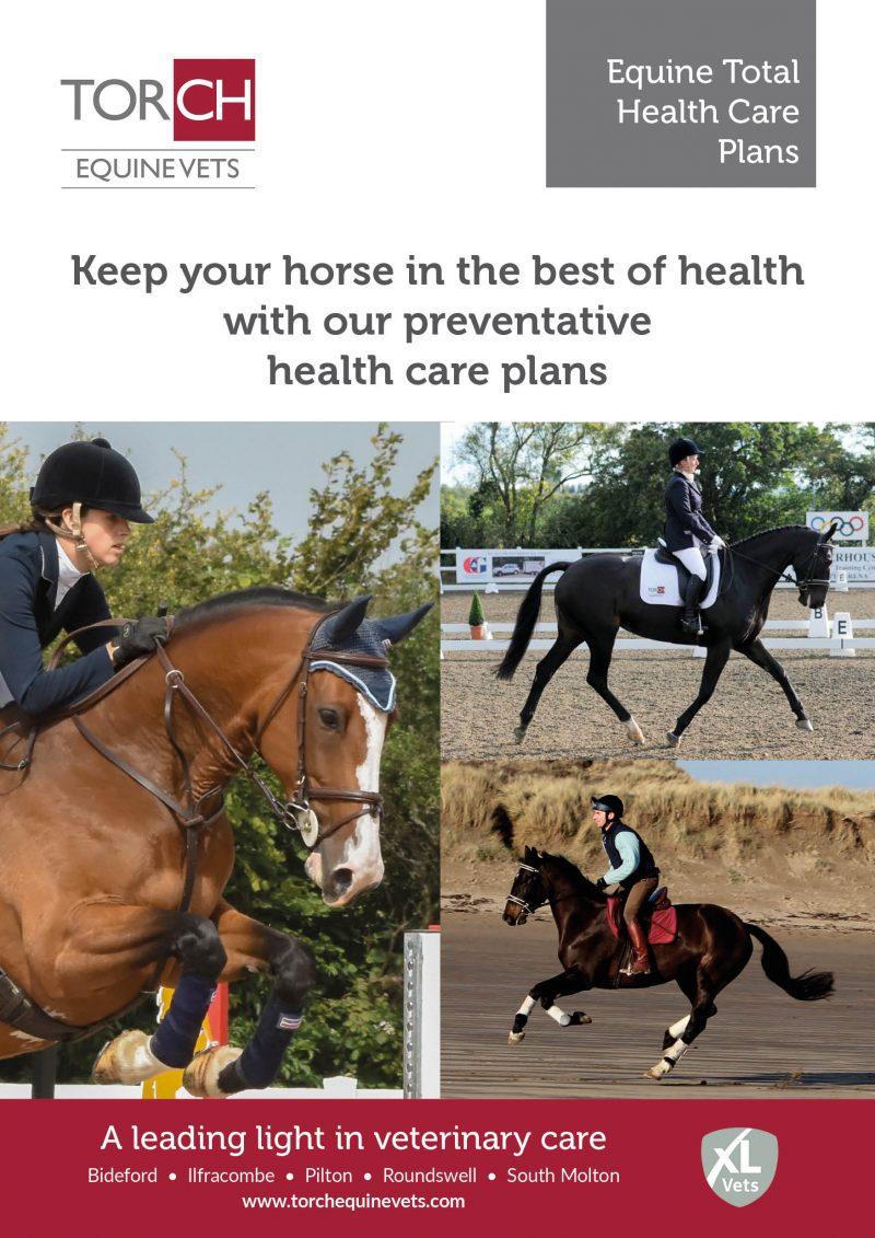 Torch Equine Vets - Equine Total Health Care Plans leaflet